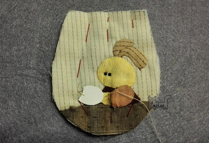 How to make tutorial vintage coin purse fabric sewing quilt patchwork applique