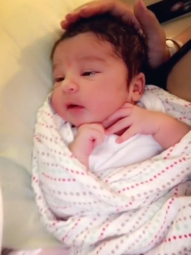 Rob Kardashian Thinks His Newborn Daughter Dream Has a 'Kris Jenner Haircut' - While Jenner Compares Her to Late Husband Robert Kardashian