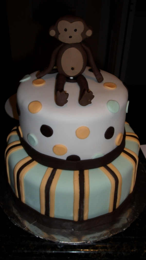 Mod Pod Pop Monkey Cake