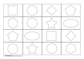 shape tracing templates - 334 best images about maths resources on pinterest coins