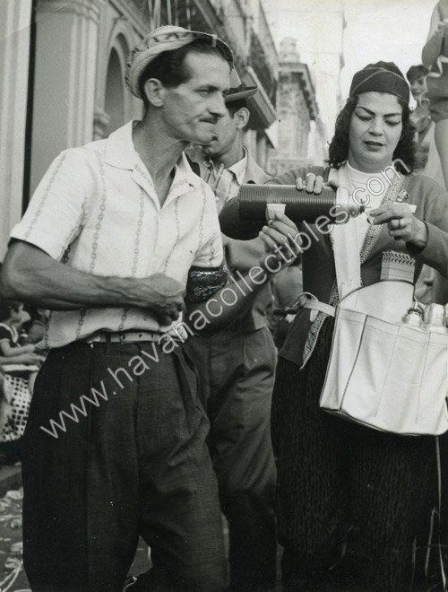 1950S CUBA HAVANA CAFE CUBANO COFFEE STREET VENDOR