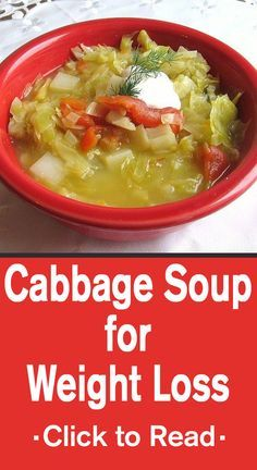 Cabbage Soup for Weight Loss: This diet is extremely helpful for people who look for shedding of weight fast and without fail. .