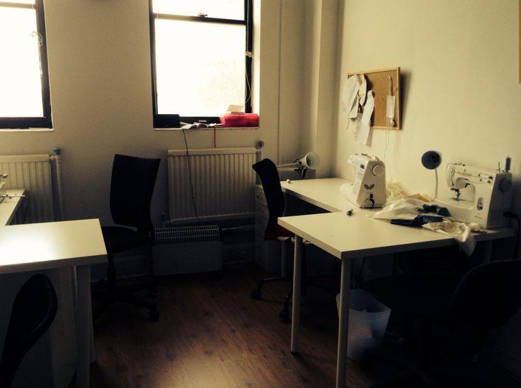 Gemma Sargent: Fashion Designer & Couturier - Edinburgh sewing workroom.