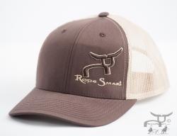 Ropesmart team roping trucker hat