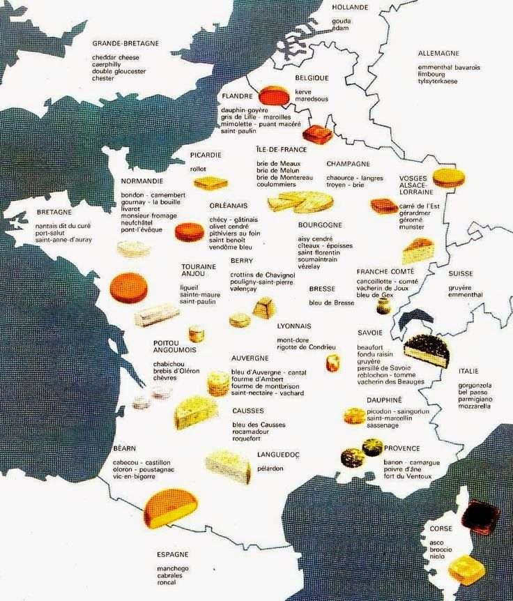 Vinho, Cerveja e Gastronomia: O mapa dos queijos pelo mundo I
