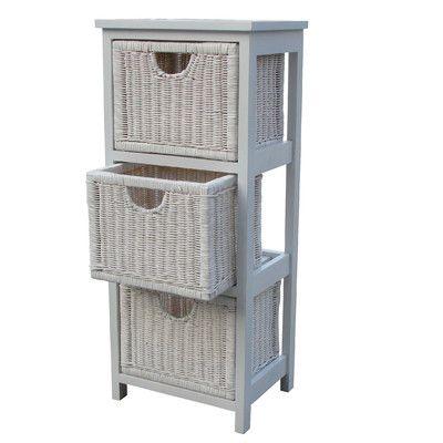 House Additions 3 Drawer Storage Unit