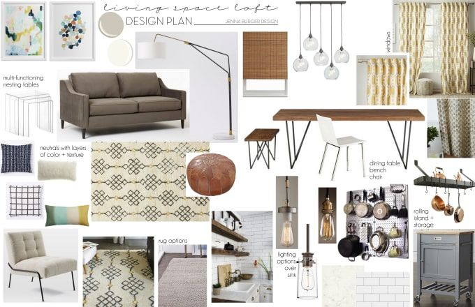 Isabellagraphic I Will Make A Mood Board For A Room Or House For 10 On Fiverr Com Interior Design Mood Board Interior Design Plan Interior Design Template