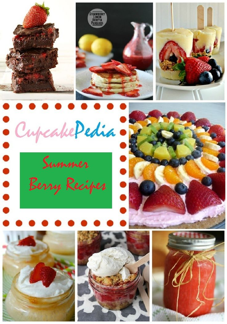 17 berry dessert recipes cupcakepedia, berry cupcakes, berry cakes, berry pops, great for summer