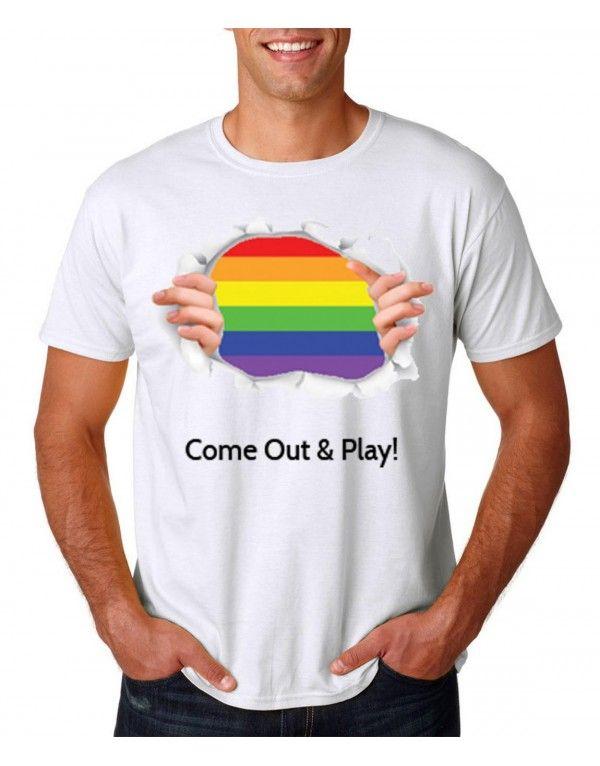 Gay Pride Tshirt (PRTS3)