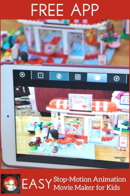How to Make LEGO Stop Motion Animation Movies With a FREE App #spon
