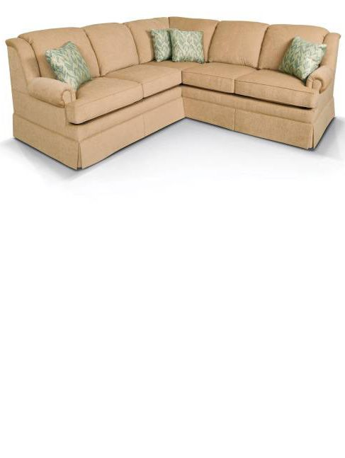 Los angeles coloro small traditional sectional sofa for Best sectional sofas los angeles