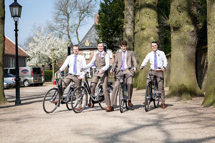 Let's bike! Dutch/Australian wedding, Amerongen, The Netherlands