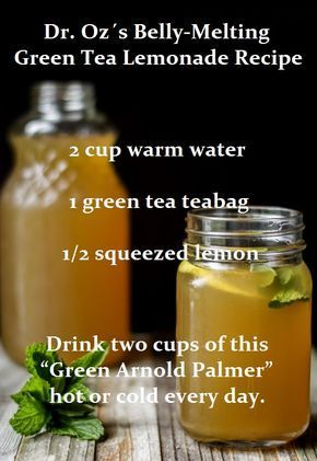 Antioxidants in green tea could help increase metabolic rate and lean body mass. While green tea is a healthy beverage on its own, the antioxidants get partially degraded in the body, so you lose some of those benefits when the tea is weakened in this process.