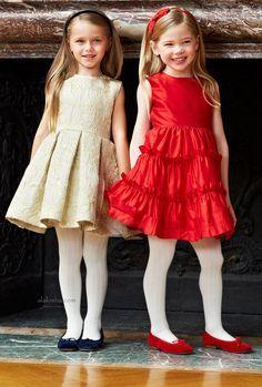 ALALOSHA: VOGUE ENFANTS: Precious Poppies from Oscar de la Renta