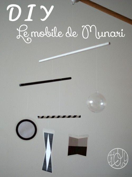 DIY Montessori : Le mobile de Munari