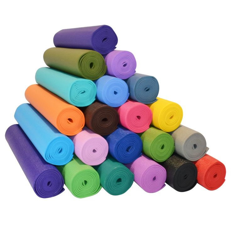 YOGA Accessories 1/4'' Extra Thick Deluxe Yoga Mat is one of the thickest sticky yoga mats on the market. The mats come in a variety of colors that are strong and vivacious but not overpowering in their brightness...