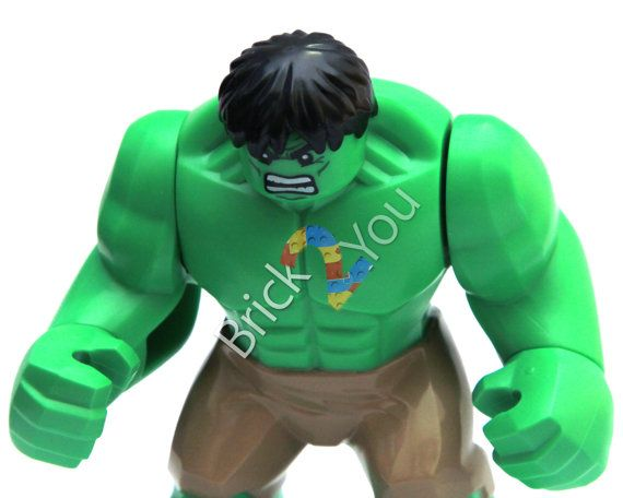 LEGO Hulk Minifigure Photo from Hulk's Helicarrier by Brick2you