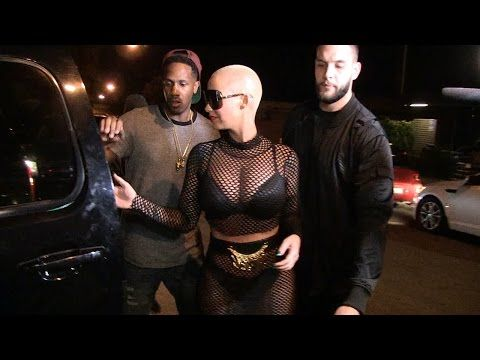 Amber Rose Arriving At The Strip Club [Video]- http://getmybuzzup.com/wp-content/uploads/2015/11/amber-rose-650x325.png- http://getmybuzzup.com/amber-rose-arriving-at-the-strip-club-video/- By TMZ Amber, an ex-stripper herself, if you didn't know … put on her best mesh dress to host at the popular L.A. gentlemen's club. She kept the ladies happy, tossing fistfuls of cash all night — pausing only for twerk breaks and ass grabs. Click 'SHOW MORE&#8