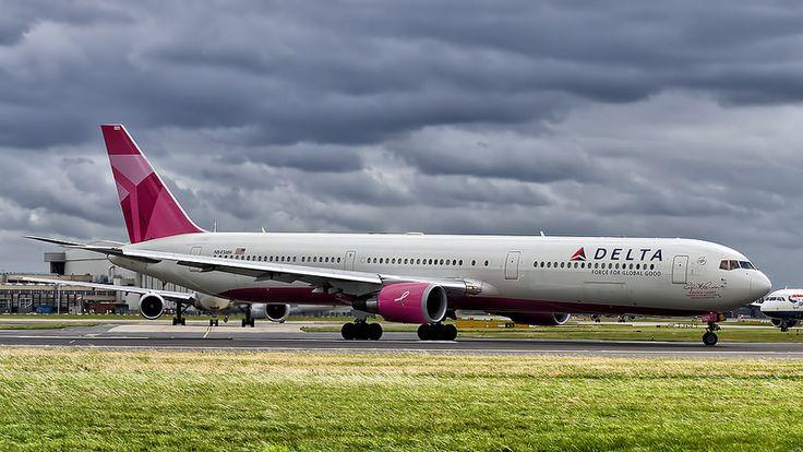 Delta Air Lines Boeing 767-400ER N845MH | Kamil Nowak | Flickr