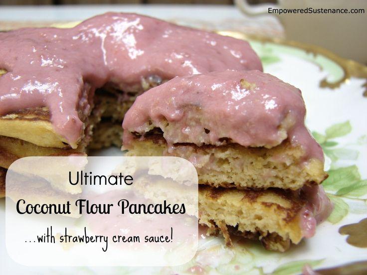 Ultimate coconut flour pancakes! gaps, paleo scd fluffy