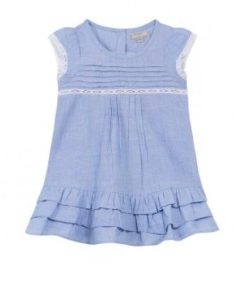 #dress #ss15 #picnic #country #littlegirl #style #chambray #GrainDeBlé www.zgeneration.com/it/