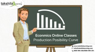 Economics Online Classes and Economics Notes : Production Possibility Curve Best Online school classes offering class 12 Economics  with NCERT guide/solutions/Notes/ study material,sample/question paper  on CBSE/ICSE exams