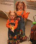 Cute Scarecrows DIY Halloween Costumes - 2013 Halloween Costume Contest