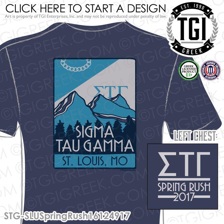 Sigma Tau Gamma | Sig Tau | ΣTΓ | Spring Rush | Rush T-Shirt | Brotherhood | Greek Mixers | TGI Greek | Greek Apparel | Custom Apparel | Fraternity Tee Shirts | Fraternity T-shirts | Custom T-Shirts