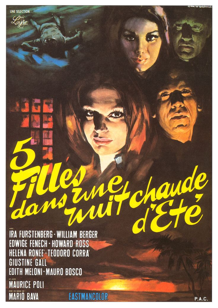 Five Dolls for an August Moon (Mario Bava, 1970): 3.5/5