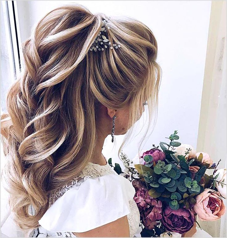 Every woman dreams for a perfect wedding. No wedding can be flawless without cool hairstyles.  #weddinghairstyles