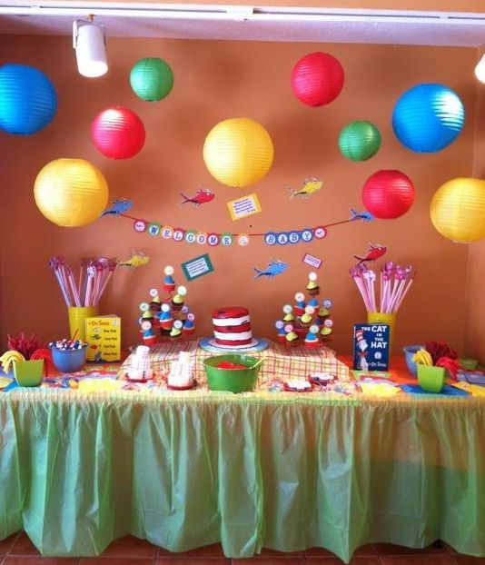 Dr. Seuss Baby Shower Food Ideas | dr seuss is fun whimsical and magical what we love most about dr seuss ...