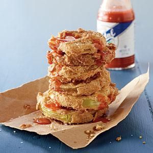 Fried Green Tomatoes- Batter was great. I imagined frying some fish with it :)