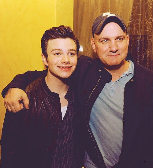 Chris Colfer and Mike O'Malley. Mike was raised in Nashua, NH and attended UNH.