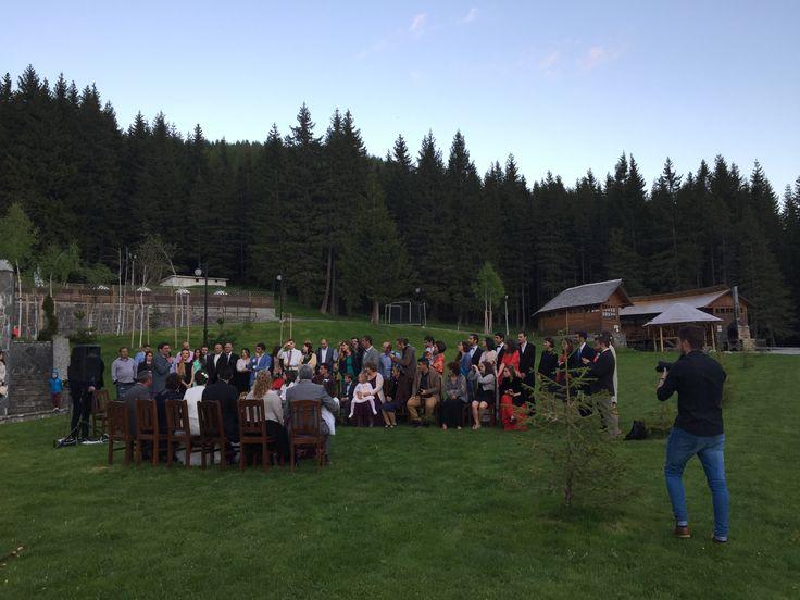 Wedding ceremony - Hotel Pestera