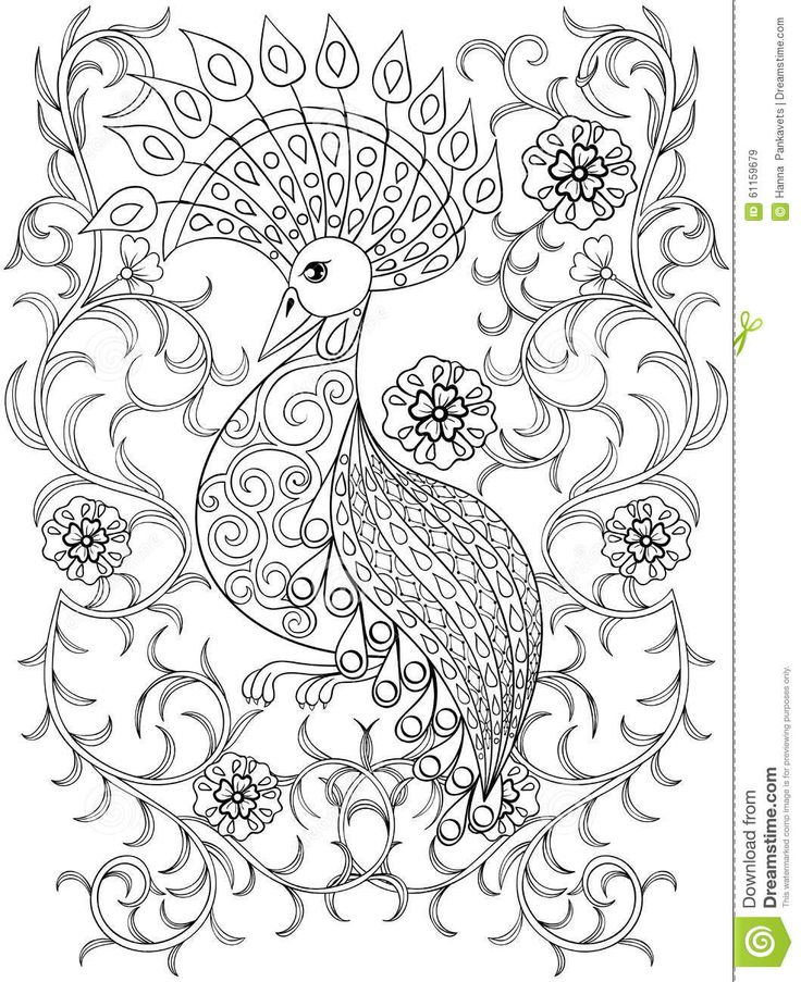 professional coloring pages flowers - photo#39