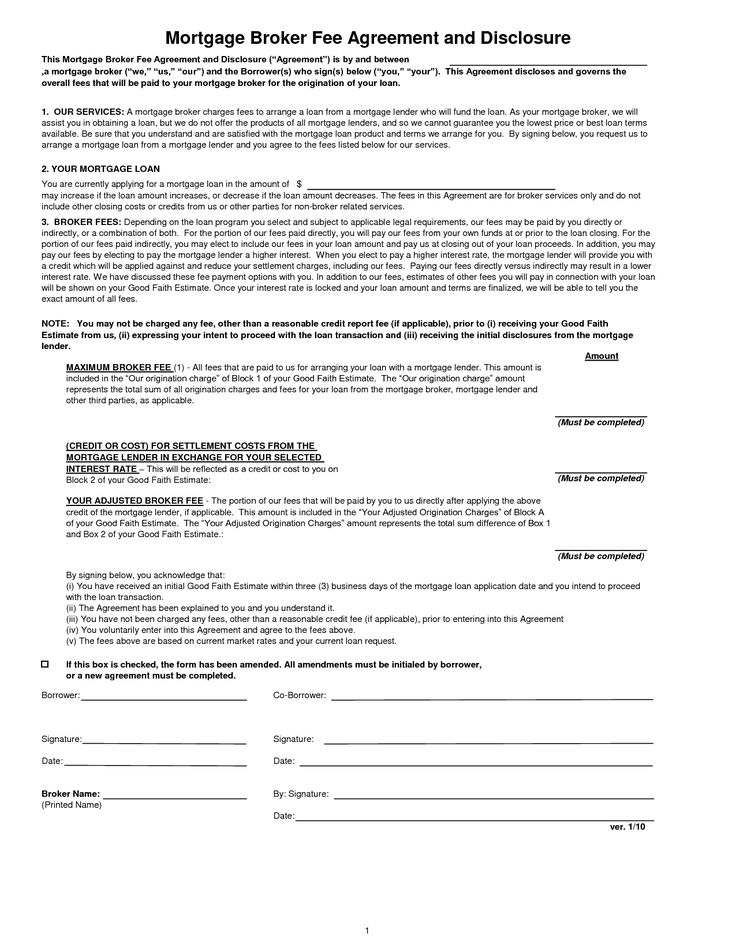 Mortgage Loan Agreement by dlp13834 - private mortgage contract template
