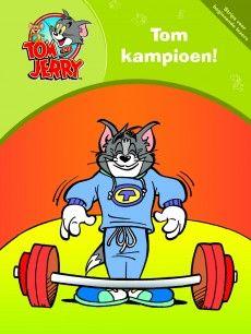 Tom & Jerry: Tom kampioen! (strip) – Uitgeverij Bakermat  Serie stripboeken voor beginnende lezers