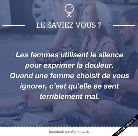 Les femmes et le silence