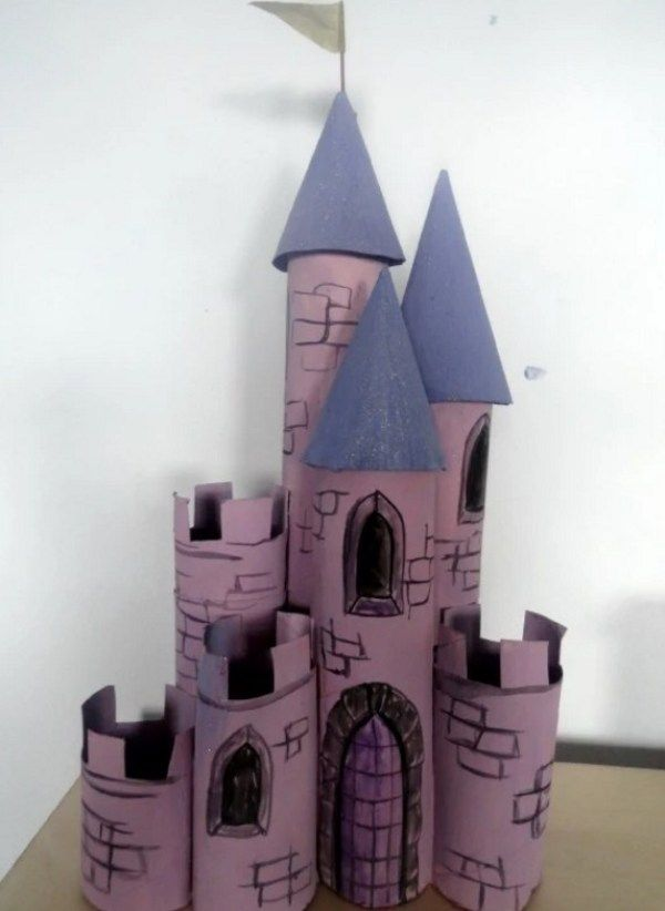 Ten Amazing Things You Can Make With Old Toilet Paper Rolls Castle Crafts Toilet Paper Roll Crafts Toilet Roll Craft