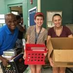 Record-Setting School Supply Drive Kicks Off 8th Year of Main Street America's Partnership with Woodland Acres Elementary School