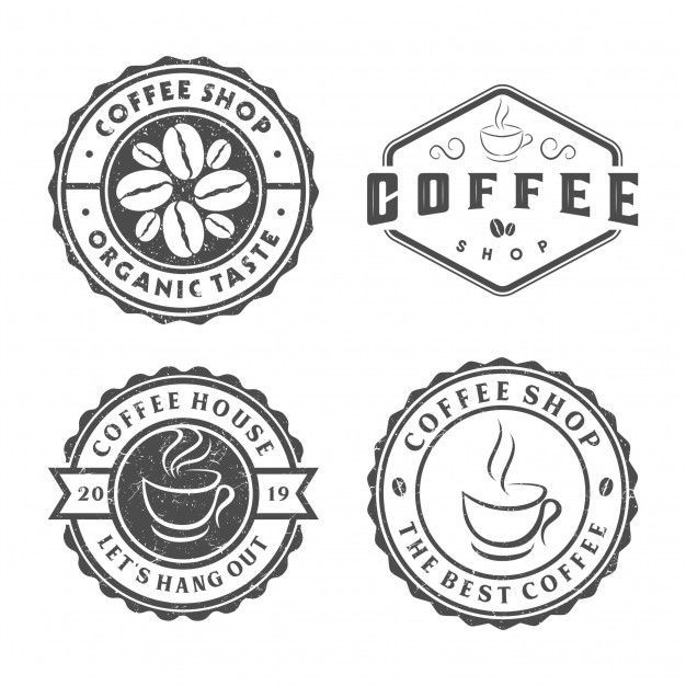 Vintage Coffee Logo Coffee In 2020 Coffee Logo Coffee Branding Logo Cafe Logo Design
