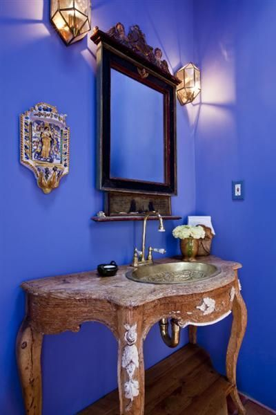 49 best images about santa fe style on pinterest adobe for Santa fe style bathroom ideas