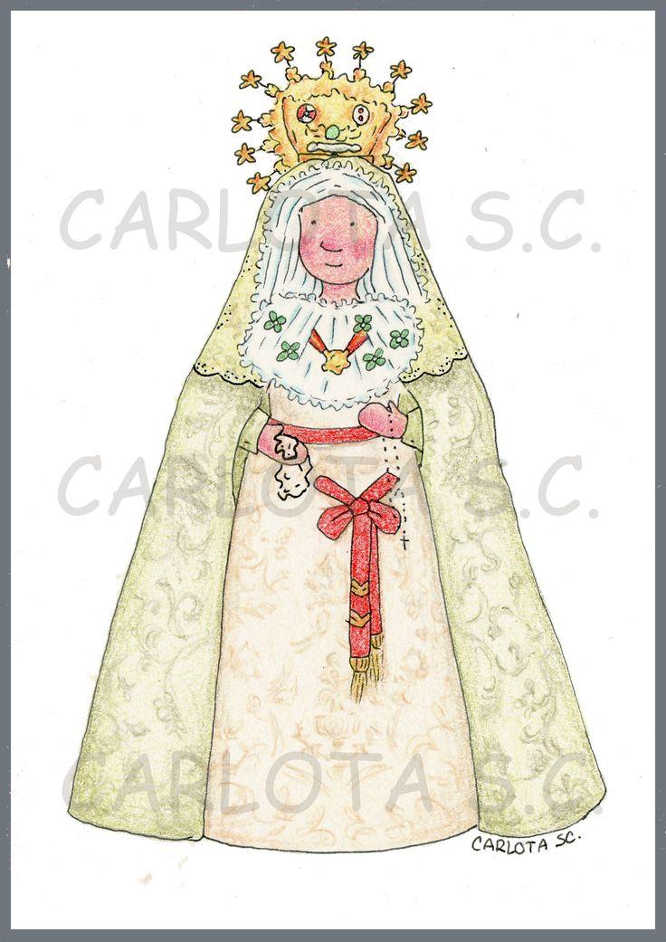 Virgen de la Macarena  www.carlotasc.com