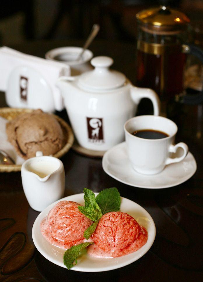"""Ice-cream@""""Kaffa""""."""