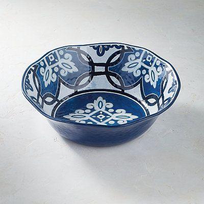 Mediterranean Tile Serving Bowl - Frontgate