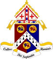 Coat of Arms of Archbishop Rowan Williams (Archbishop of Canterbury 2002-2012)