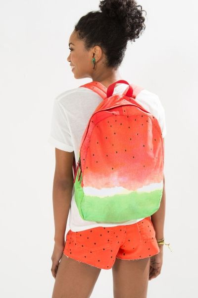 mochila de melancia / watermelon backpack