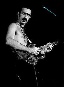 Frank Zappa in 1977