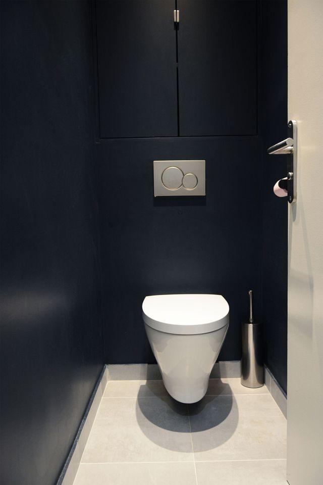 48 best Idées pour les toilettes images on Pinterest Bathroom - Comment Decorer Ses Toilettes