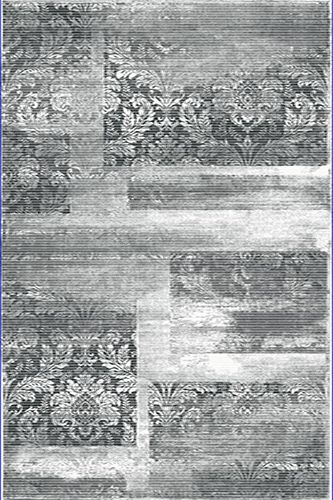 Flora Kumru 2090A GRI - Modern Halı Modelleri